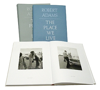 Robert Adams: The Place We Live, A Retrospective Selection of Photographs, 1964-2009 (Yale First Edition, Three Volumes). Robert ADAMS, John, SZARKOWSKI, Jock, REYNOLDS, Tod, PAPAGEORGE, Joshua, CHUANG.