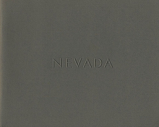 Lewis Baltz: Nevada (First Edition) [SIGNED (vintage signature)]. Lewis BALTZ.