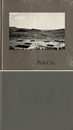 Lewis Baltz: Park City (First Edition) [SIGNED] (New condition in publisher's shrink-wrap, slit open for signature) -- INCLUDES a copy of Lewis Baltz: Nevada (First Edition) [SIGNED]. Lewis BALTZ, Gus, BLAISDELL.