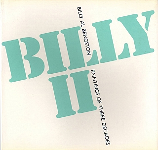 Billy Al Bengston: Billy II: Paintings of Three Decades. Billy Al BENGSTON, Maurice, TUCHMAN,...