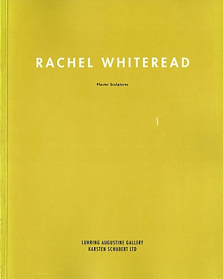 Rachel Whiteread: Plaster Sculptures. Rachel WHITEREAD, David, BATCHELOR