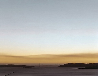 Richard Misrach: 10.21.00 6:49 PM (SMOKE), Limited Edition Archival Pigment Print from Golden...