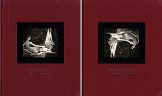 Jerry Uelsmann: Referencing Art (Set of Two Copies, Cover Plate Inverted on One Copy). Jerry N....