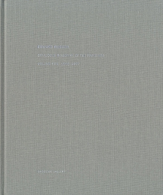 Edward Ruscha: Catalogue Raisonné of the Paintings, Volume 5 (Five), 1993-1997. Ed RUSCHA, Robert, DEAN, Lisa TURVEY, Hal FOSTER, Edward.