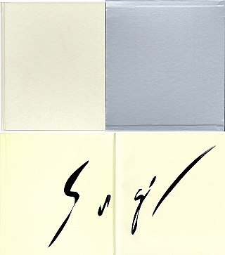 Hiroshi Sugimoto: Theaters [SIGNED in English with a calligraphy brush]. Hiroshi SUGIMOTO, Hans,...