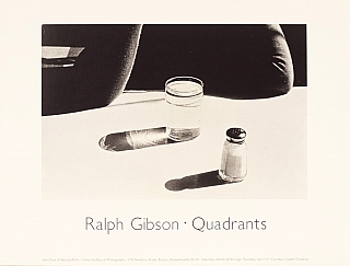Ralph Gibson: Quadrants (Vision Gallery of Photography Exhibition Poster). Ralph GIBSON