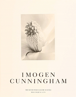 Imogen Cunningham: Silver Image Gallery Exhibition Poster (Magnolia Blossom - Tower of Jewels,...