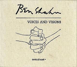 Ben Shahn: Voices and Visions, Limited Edition. Ben SHAHN, Alma S., KING, Jacob, SCHULMAN, Kenneth, PRESCOTT, Martha, FLEISCHMAN, John, CANADAY.