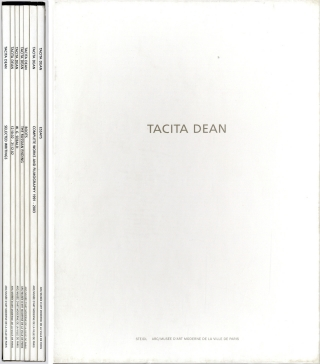 Tacita Dean: Seven Books (Selected Writings, 12.10.02 - 21.12.02, W.G. Sebald, The Russian Ending, Boots, Complete Works and Filmography 1991-2003, and Essays). Tacita DEAN, Michael, NEWMAN, Jean-Luc, NANCY, Rita, KERSTING, Julia, GARIMORTH, Laurence, BOSSÉ.