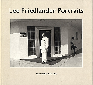 Lee Friedlander: Portraits [SIGNED]. Lee FRIEDLANDER, R. B., KITAJ.