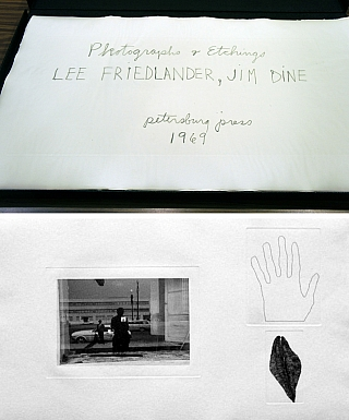 Photographs & Etchings: Lee Friedlander, Jim Dine, Limited Edition (Portfolio of 17 Vintage...
