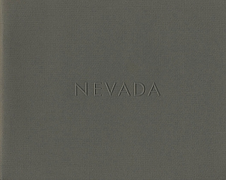 Lewis Baltz: Nevada (First Edition) [SIGNED] [IMPERFECT]. Lewis BALTZ.