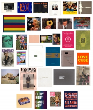 Martin Parr: A Collection of 33 Books and Catalogues [All Titles SIGNED or SIGNED ASSOCIATION...