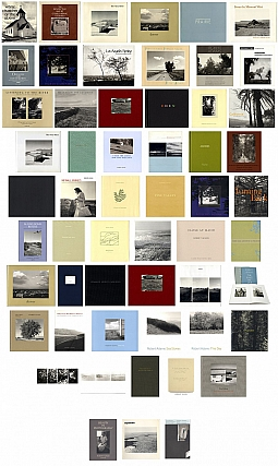 Robert Adams: The Complete Collection of 55 Books and Catalogues [All Titles SIGNED, First Edition, First Printing, in Fine or As New Condition; Some Titles Limited Editions; Includes Additional Ephemera]. Robert ADAMS.