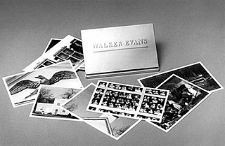 Walker Evans: A Gallery of Postcards. Walker EVANS, Jeff L., ROSENHEIM.