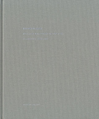 Edward Ruscha: Catalogue Raisonné of the Paintings, Volume 5 (Five), 1993-1997 [SIGNED]. Ed RUSCHA, Robert, DEAN, Lisa TURVEY, Hal FOSTER, Edward.