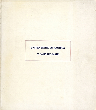 United States of America: V Paris Biennale (1967 Exhibition Catalogue). Ed RUSCHA, John,...