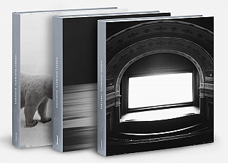Hiroshi Sugimoto: Dioramas, Seascapes and Theaters (Set of 3 Damiani Books) [SIGNED in English]....