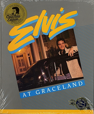 Elvis at Graceland (Rare Guidebook, New in Publisher's Shrink-wrap). William EGGLESTON, Twyla, DIXON, Ken, BRIXEY.