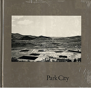 Lewis Baltz: Park City (First Edition) [SIGNED] (in publisher's shrink-wrap, slit open for signature) [IMPERFECT]. Lewis BALTZ, Gus, BLAISDELL.