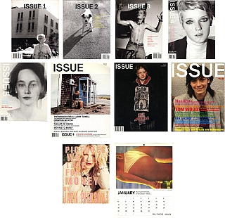 Issue, Complete Set of 8 Volumes and 2 Supplements. DIKKERS VARIOUS, Jan-Willem, Mitch, EPSTEIN, Marilyn, MINTER, Bill, OWENS, Larry, TOWELL, Paul, MCCARTHY, Ari, MARCOPOULOS, Jack, PIERSON, Nan, GOLDIN, Raymond, PETTIBON, Larry, CLARK, Christopher, WOOL.