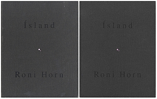 Roni Horn: Pooling Waters (Ísland: To Place 4: Two Volume Set). Roni HORN