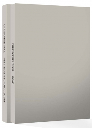 Christopher Wool: Road & Westtexaspsychosculpture (Two Volume Set), Limited Edition [SIGNED]....