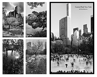 Jeff Liao: Central Park New York, Special Limited Edition (with 4 Prints). Jeff LIAO