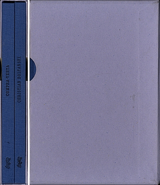 Christian Boltanski: Compra-Venta (Buy-Sell) (Two Volumes Slipcased). Christian BOLTANSKI,...